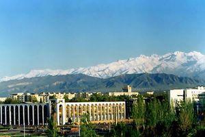 Самолет в Бишкек
